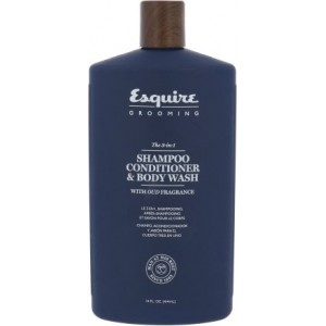 Esquire Grooming 3 in1 Shampoo Conditioner Body Wash 414ml