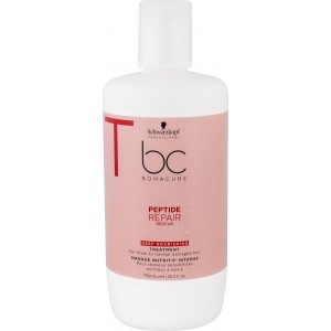 Schwarzkopf BC Bonacure Peptide Repair Rescue Deep Nourishing Treatment for Thick to Normal Damager Hair 750ml