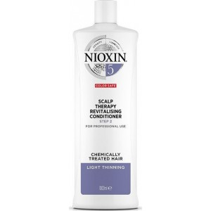 Nioxin System 5 Scalp Therapy Revitalising Conditioner Step 2 Chemically Treated Hair Light Thinning 1000ml