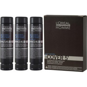 L'Oreal Homme Cover 5' Set 5 Light Brown 3 x 50ml
