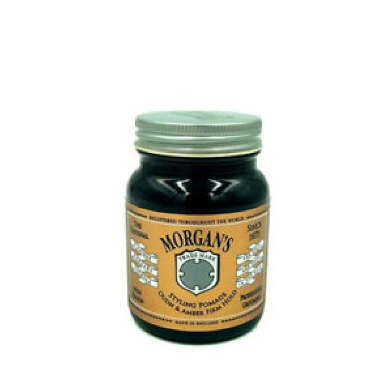 Morgans Oudh & Amber Strong Firme Firm Hold Hair Style Styling Pomade 100g