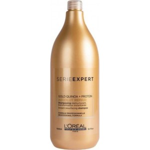 L'Oreal Professionel Gold Quinoa & Protein Absolut Repair Instant Resurfacing Shampoo 1500ml