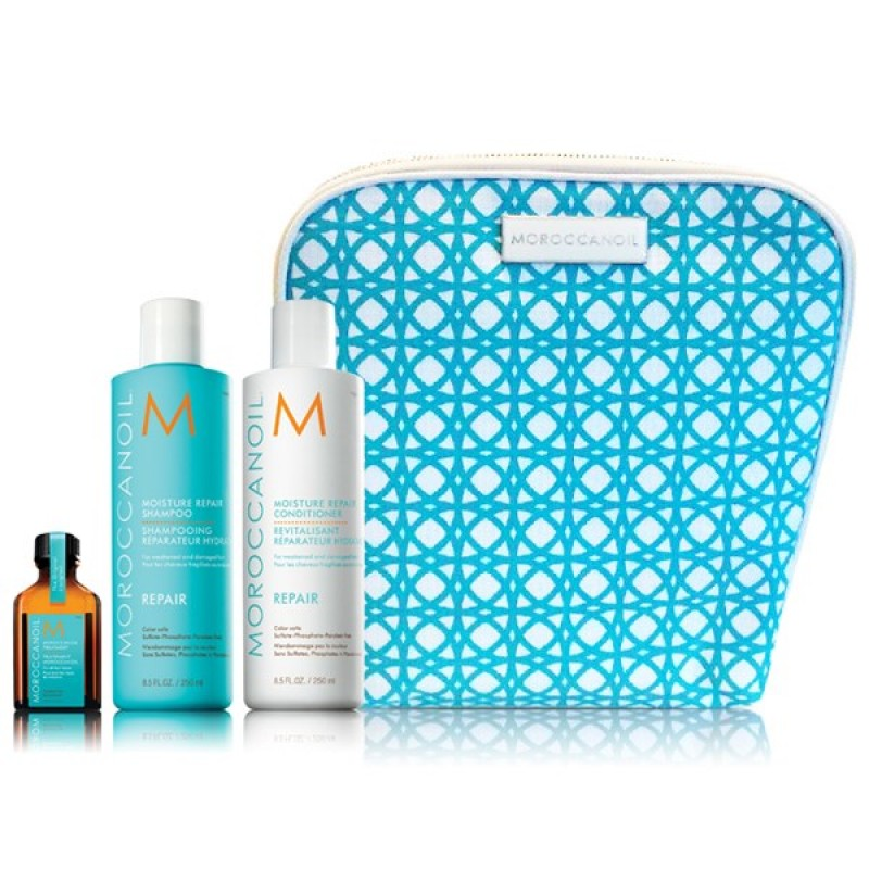 MOROCCANOIL REPAIR COLLECTION (ΣΑΜΠΟΥΆΝ, CONDITIONER & ΛΆΔΙ)