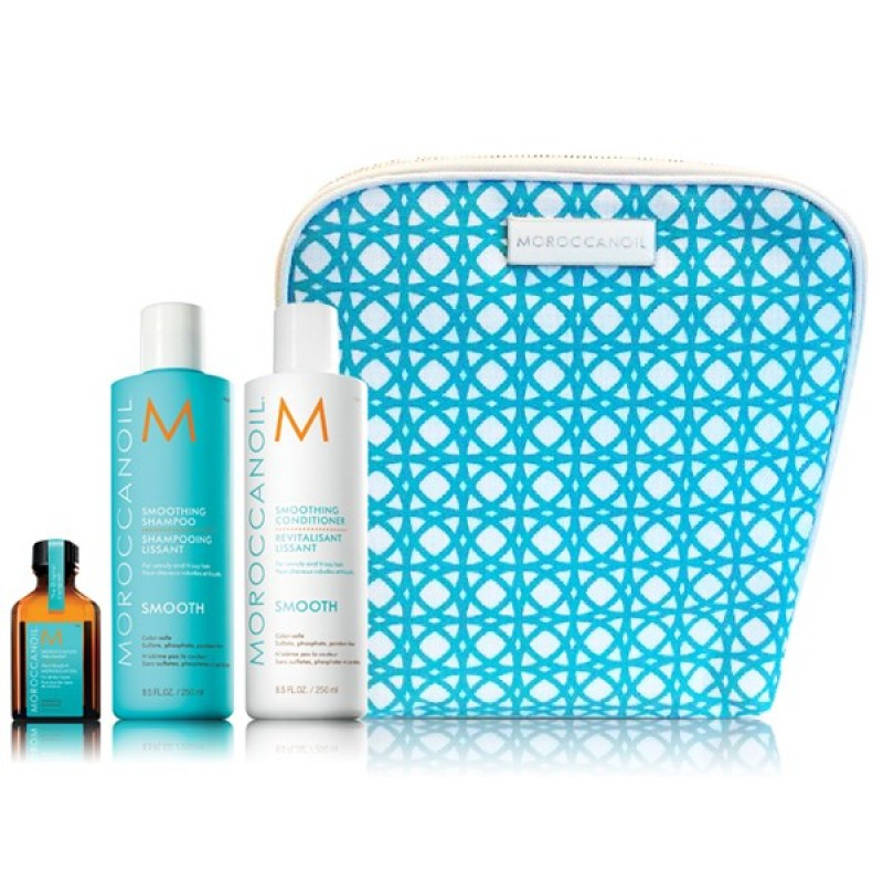 MOROCCANOIL SMOOTH COLLECTION (ΣΑΜΠΟΥΆΝ, CONDITIONER & ΛΆΔΙ)