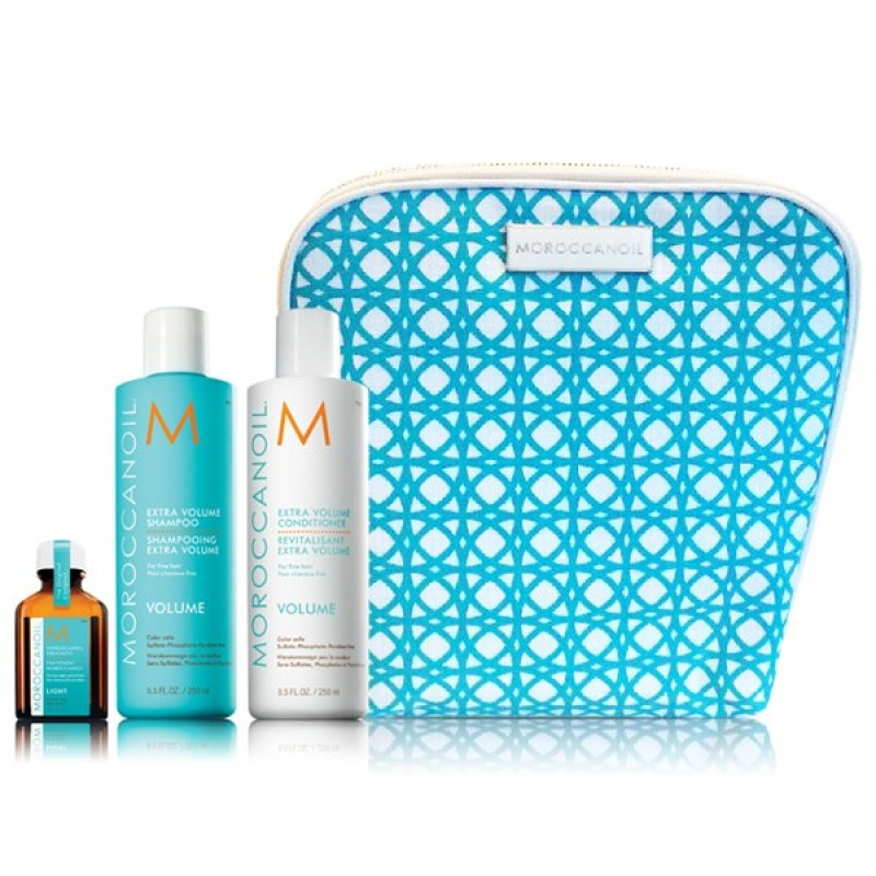 MOROCCANOIL VOLUME COLLECTION (ΣΑΜΠΟΥΆΝ, CONDITIONER & ΛΆΔΙ)