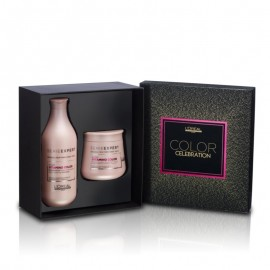 Xmas Offer!!L'Oreal Professionnel Color Celebration Pack (Shampoo 300ml + Masque 250ml)