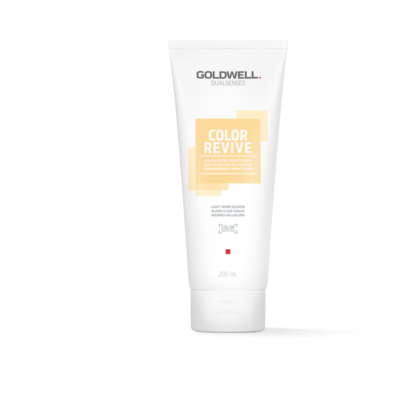 Goldwell Dualsenses Color Revive Color Giving Conditioner Light Warm Blonde 200ml