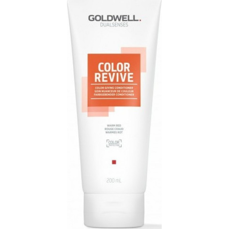 Goldwell Dualsenses Color Revive Color Giving Conditioner Warm Red 200ml