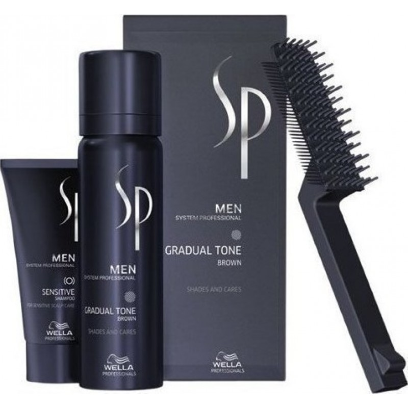 Wella SP Men Gradual Tone (Καστανό) - Pigment Mousse 60ml