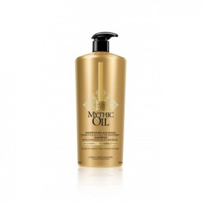 L'Oreal Professionnel Mythic Oil New Shampoo για Κανονικά - Λεπτά Μαλλιά 1000ml