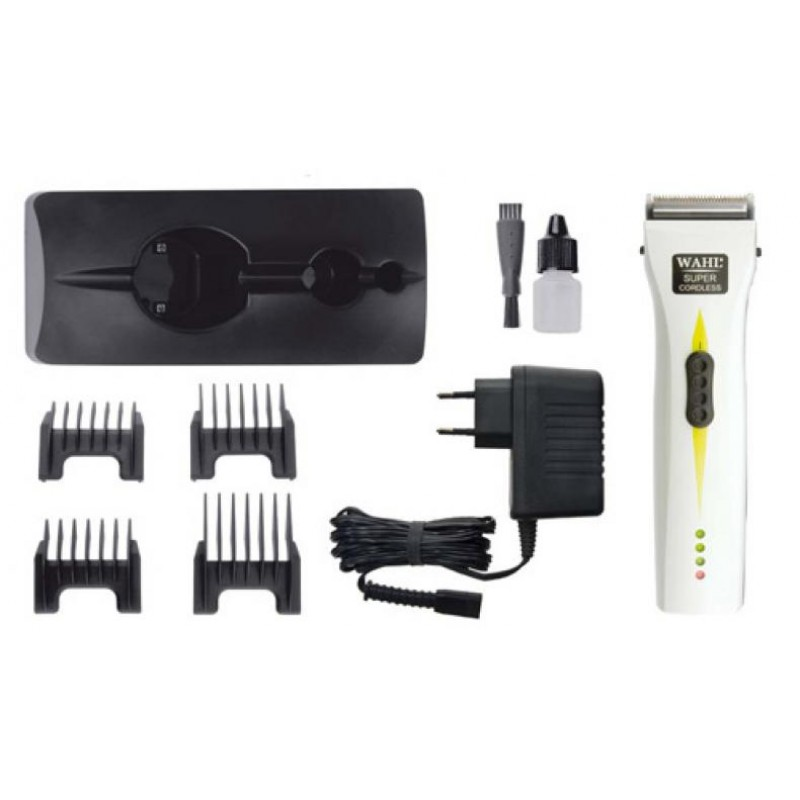 WAHL PROFESSIONAL SUPER CORDLESS WHITE-1872-0471