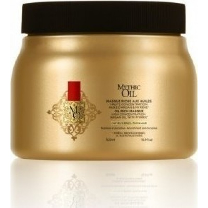 L'Oreal Professionnel Mythic Oil New Masque για Χονδρά Μαλλιά 500ml