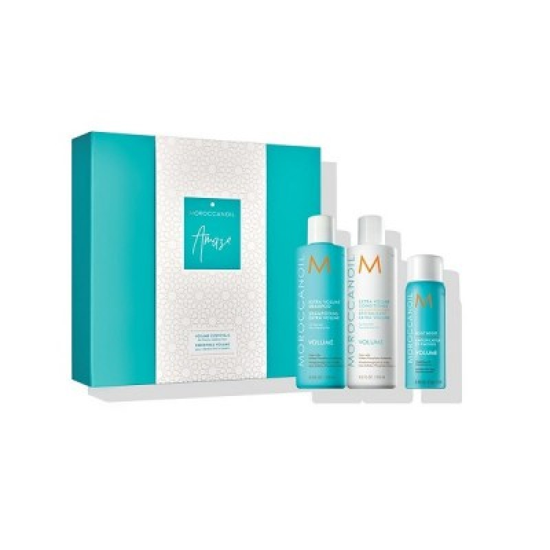 MOROCCANOIL VOLUME AMAZE SET (EXTRA VOLUME SHAMPOO 250ML+ EXTRA VOLUME CONDITIONER250ML + ΔΩΡΟ ROOT BOOST 75ML)