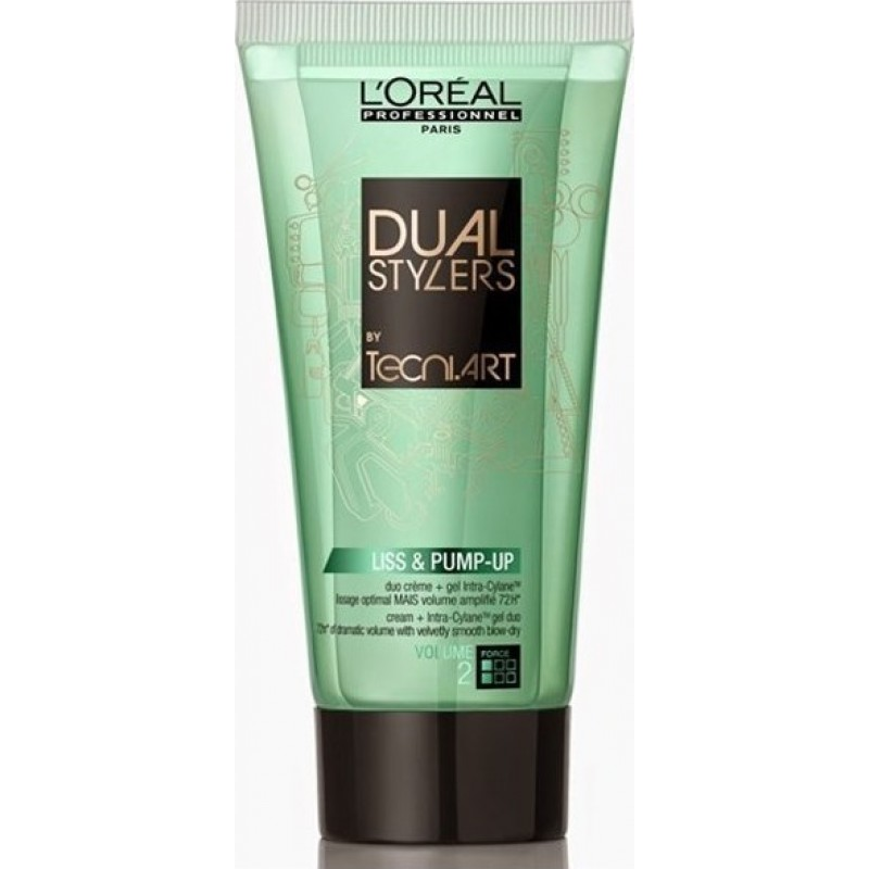 L'Oreal Professionnel Tecni Art Dual Stylers Liss & Pump-Up 150ml