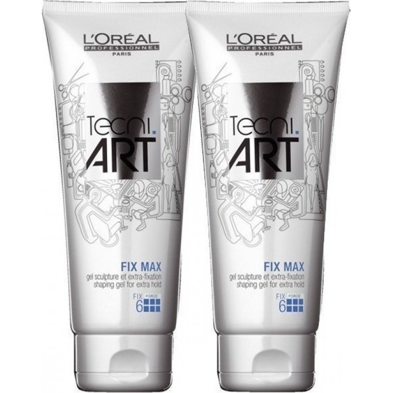 L'OREAL PROFESSIONNEL TECNI ART FIX MAX 200ML 1+1 ΔΩΡΟ