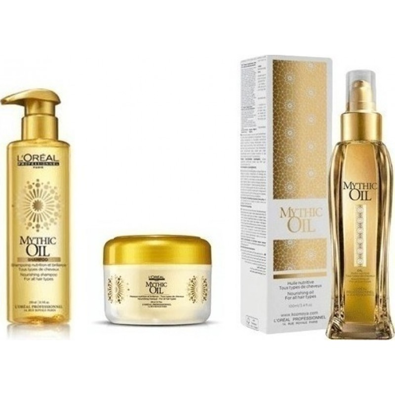 L'OREAL PROFESSIONNEL MYTHIC OIL OFFER ΣΑΜΠΟΥΆΝ 250ML+MΆΣΚΑ 200ML+ΛΆΔΙ 100ML
