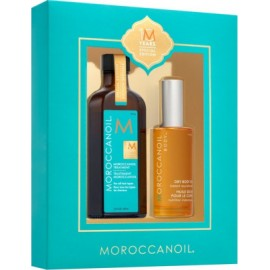 MOROCCANOIL OIL TREATMENT 100ML & DRY BODY OIL 50ML(10 YEARS SPECIAL EDITION)