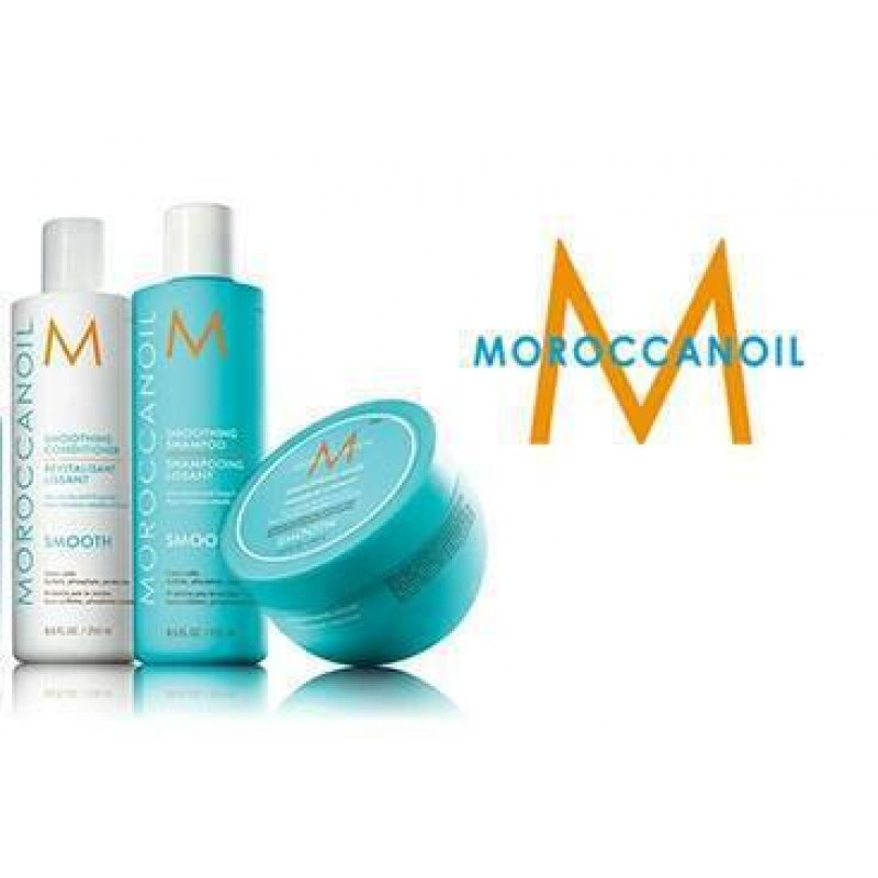 MOROCCANOIL SET SMOOTH Smoothing Shampoo 250ml Smoothing Conditioner 250ml  Smoothing Mask 250ml