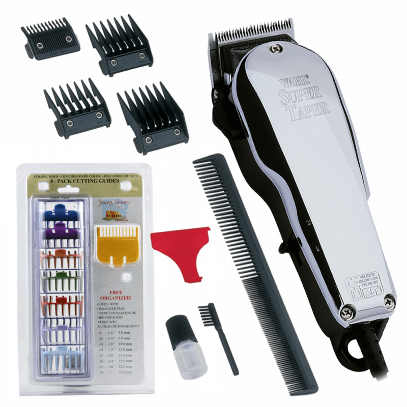 Wahl chrome Super Taper  08463-316