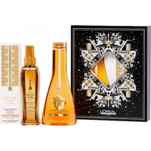 L'Oréal Professionnel Gift Set Mythic Oil Duo (Shampoo Fine 250ml+ Mythic Oil 100ml)